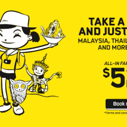 Scoot: 22 Destinations in Southeast Asia on Sale with Fares Starting from $52!