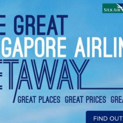 Singapore Airlines: The Great Singapore Airlines Getaway with Sale Fares from SGD148!