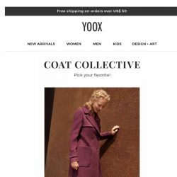 [Yoox] Have you already picked out your favorite coat?