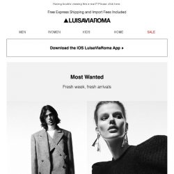 [LUISAVIAROMA] Layer up with new arrivals