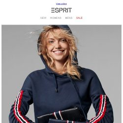 [Esprit] Athleisure is the New Casual