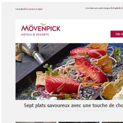 [Mövenpick Hotels & Resorts] Le chocolat en version salée