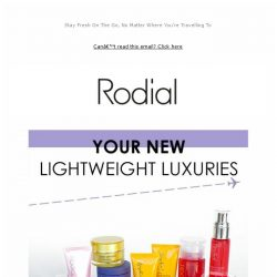 [RODIAL] Your New Travel Companions ✈️