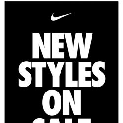 [Nike] New Styles on Sale: Up to 30% Off