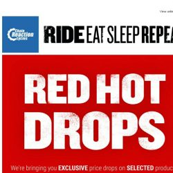 [Chain Reaction Cycles] Red. Hot. Drops. 🔥