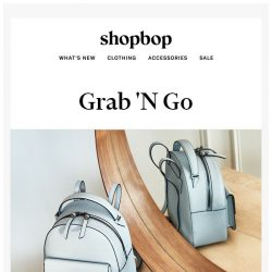 [Shopbop] We call these 24/7 bags