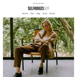 [Selfridges & Co] Breaking newness