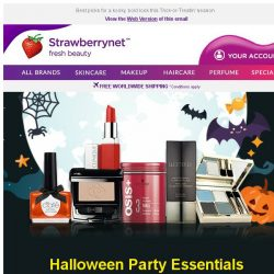 [StrawberryNet] 🎃 Budget Halloween Makeover for as low as US$7!