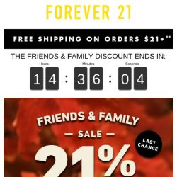 [FOREVER 21] Oh, no! Is this the end? :(