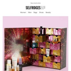[Selfridges & Co] Our exclusive beauty advent calendar is back!