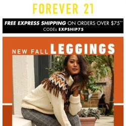 [FOREVER 21] TRY IT: Fall's Power Pairing