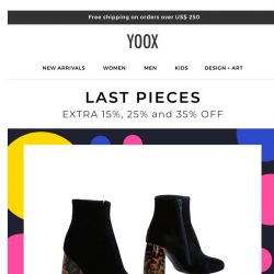 [Yoox] One-of-a-kind pieces on promotion: you choose the markdown!