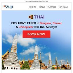 [Zuji] BQ.sg: Non-budget baller fares to Bangkok and more!