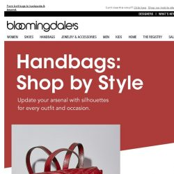 [Bloomingdales] Fall's best bags: Find your new favorite