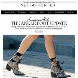 [NET-A-PORTER] Boots to stamp out the cold