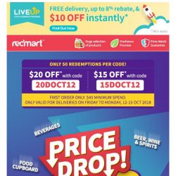 [Redmart] Half price deals and MORE in this week's Lower Price Savers!