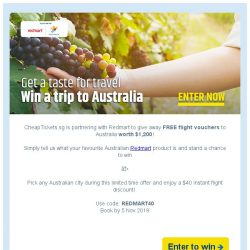 [cheaptickets.sg] ✈️How to fly to Australia for FREE