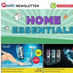 [Qoo10] The Sale Continues! Bestselling Tritan Bottle @ $5.90 ONLY! Dettol Bundle + Free Wet Wipes @ $19.90! Premium Leather Stool @ $19.90 & MANY MORE!