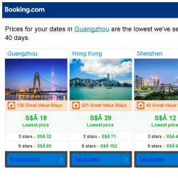 [Booking.com] Prices in Guangzhou are the lowest we've seen in 40 days!