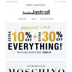 [Last Call] Introducing MOSCHINO | New to Last Call