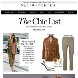 [NET-A-PORTER] Wear these shades for instant chic