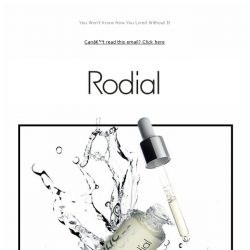 [RODIAL] Your New Overnight Hero: Glycolic Acid