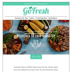 [GoFresh] GoFresh: Gourmet - Flash Sales!