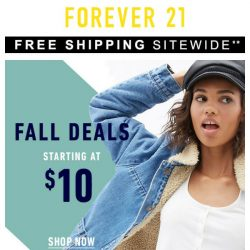 [FOREVER 21] FALL MUST-HAVE DEALS