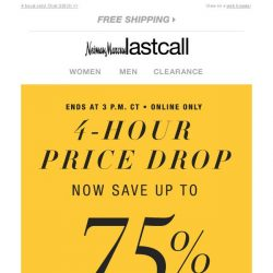 [Last Call] 💰 PRICE DROP 💰 URGENT NOTICE 💰 Open NOW for up to 75% off