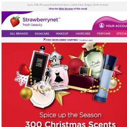 [StrawberryNet] , 🎄 Top 300 Christmas Fragrances at Unbeatable Prices!