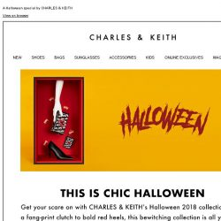 [Charles & Keith] Get dangerously chic in our spooky and stylish collection