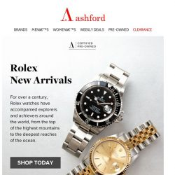 [Ashford] Stellar New Arrivals- limited stock available
