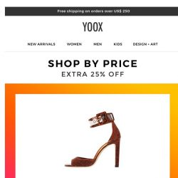 [Yoox] Find exactly what you're looking for...at the perfect price!