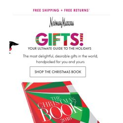 [Neiman Marcus] Gifts, party looks, treats...The Christmas Book is here