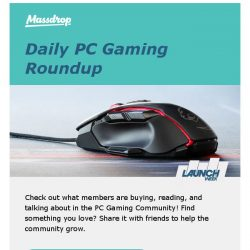 [Massdrop] Today's top picks in PC Gaming