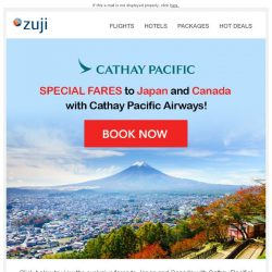 [Zuji] BQ.sg: Cathay Pacific Special Fares 🇯🇵🇨🇦