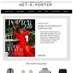[NET-A-PORTER] New showstopping dresses & super-sleek suits