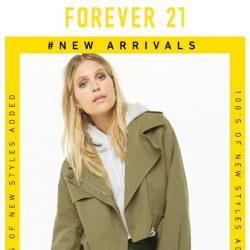 [FOREVER 21] NEW: Sweaters, Coats, & More