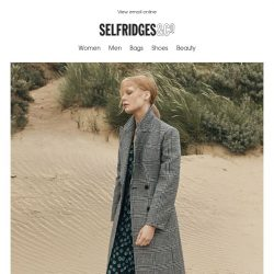 [Selfridges & Co] Layer up