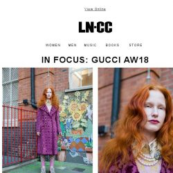[LN-CC] IN FOCUS: GUCCI AW18