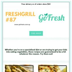 [GoFresh] GoFresh: Freshgrill #87 -  Freedom Fries! 4 Marvellous recipes for vegetable fries.
