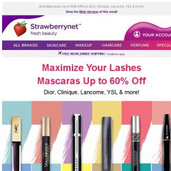 [StrawberryNet] 👀 Maximize Your Lashes for Incredible Length + Volume!