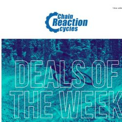 [Chain Reaction Cycles] 60% Off: Final Days of Warehouse Clearance and Red Hot Drops