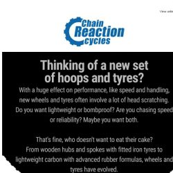 [Chain Reaction Cycles] Whoop, Whoop, New Hoops [and Tyres]! 😍