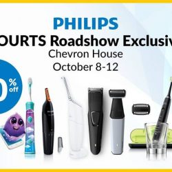 Philips: Grooming Fair with Up to 60% OFF Philips Products