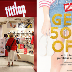 FitFlop: Enjoy 50% OFF with Minimum Purchase of 2 Regular-Priced Items!