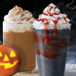 Starbucks: Pumpkin Spice Latte is Back! Plus NEW Zombie Frappuccino®, Spooky Treats & Merchandise!