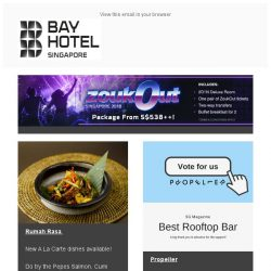 [Bay Hotel] Remember Bay this November