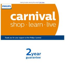 [PHILIPS] Thank you for your support at the Philips Carnival