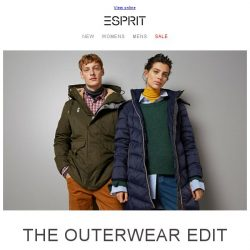 [Esprit] Must-have outerwear for this winter